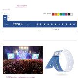 Großhandels-RFID Marke125khz/13.56mhz Wegwerfwristband-Armband