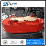 Formato oval de levantamento eletromagnético para descarga a partir de sucata de aço Narrow-Space 60% Ciclo MW61