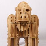 Novelk Wooden Kingkong Side Table