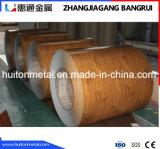 Деревянная катушка покрытия цинка картины гальванизированная стальная