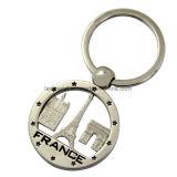 도매 싼 아연 합금은 주물 Keychain를 정지한다