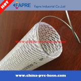 2017 유연한 고압 철강선 및 섬유에 의하여 땋아지는 강화된 PVC 입히는 배관 호스