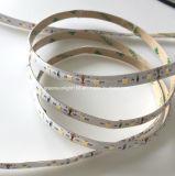 Luz de tira morna do diodo emissor de luz do branco em escadas