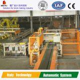 Taglierina tedesca dell'interlinea di tecnologia nella pianta di fabbricazione del mattone dell'argilla