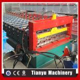 Metallparalleltrapez-Blatt-Fliese-Dach-Panel-Rolle, die Maschine 1000 bildet