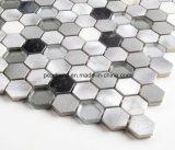 알루미늄 모자이크 타일 돌 Matel는 훈장 부엌 Backsplash 목욕탕 벽 도와 Acs-Hns4301를 타일을 붙인다