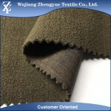 TPU 3 strati del Melange del poliestere di stirata del tessuto di Softshell con legame del panno morbido