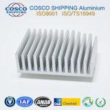 Aluminium/Aluminium Machinaal bewerkte Heatsink (met ISO9001: 2008 Gediplomeerd & anodiseerde)