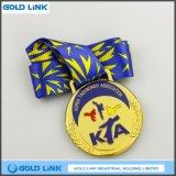 Métiers personnalisés en métal de médailles de récompense de Teawondo de médaille de sports