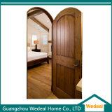 Puerta interior de madera sólida del tablón de madera sólida