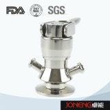 Manual de acero inoxidable de grado alimentario de tipo de válvula de muestreo (JN-SPV2003)