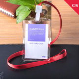 Soporte de tarjeta RFID con Lanyard ABS Material Slim Cardholders