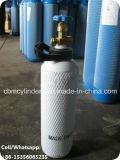 詰め替え式の鋼鉄酸素窒素シリンダー3.4L
