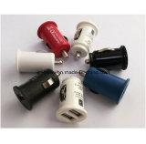 주식에서 비용을 부과하는 지능적인 장치를 위한 선전용 휴대용 이중 USB 차 충전기