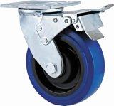Laufkatze-Rad, feste Polyurethan-Hochleistungslaufkatze-industrielles Fußrollen-Rad, 6 Zoll-Fußrollen-Rad mit Polyurethan, Schwenker-Fußrolle mit PU-Rad