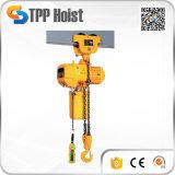 Tipo eléctrico sistema de la carretilla de Hsy del alzamiento de cadena de la polea