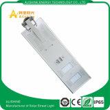 60W zu 100W integriertem Solar-LED Straßenlaternesolar alle in einem LED-Solarlampen-Straßenlaterne