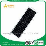LED 50W de luz de calle solar integrada con buen precio.