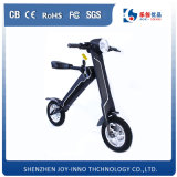 Zwei Räder und elektrischer Roller mit bequemen Sitzen