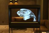 escaparate de la visualización del holograma del rectángulo/de la pirámide de 3D Holo con precios competitivos