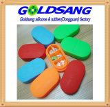 Горячая продажа силикона таблетки коробка для хранения индивидуального логотипа