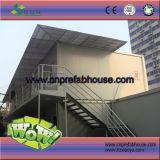 Certificado CE de la casa contenedor modular para la vida temporal