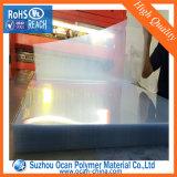 0,9-1.5mm feuille transparente en PVC rigide pour les vêtements d'insertion de col
