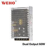 Weho D-60W AC/DC à sortie double alimentation électrique de commutation