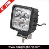 EMC genehmigte 12V 24V ein 4 Zoll-Quadrat CREE 27W LED Arbeits-Lichter