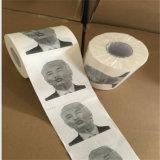 Ziemlich ungerade Neuheit-Donald- Trumppolitische Stimmung-lustiges Toilettenpapier
