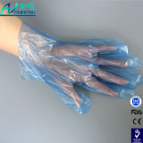 Китай питания на заводе водонепроницаемый прозрачные одноразовые перчатки PE