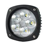 12V 24Vの頑丈な50Wトラックのトラクターのクリー族LED作業ランプ