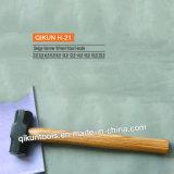 H-21 строительного оборудования ручных инструментов деревянной салазочного рукоятки молотка
