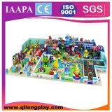 Hölzerner weicher Spielplatz scherzt Innen (QL--033)