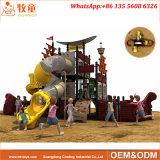 De nieuwe Apparatuur van de Speelplaats van de Jonge geitjes van het Park van Amusment van het Ontwerp Openlucht van Cowboy