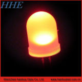 8mm tipo redondo en color naranja 600-610nm luz LED (HH-50OCCO800).