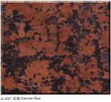 Tuile de Carmen Red Granite et &Countertop de galettes (JL-047)