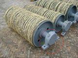 Изготовление шкива /Tail головки барабанчика ленточного транспортера