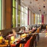 (SD3016) Mobília moderna do restaurante para a tabela e cadeiras macias do escudo