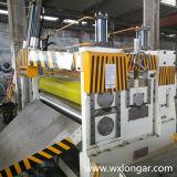 Máquina que raja de la hoja de aluminio
