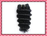 Волосы Boundles Weave человеческих волос бразильского выдвижения человеческих волос волны волос девственницы глубокого Unprocessed