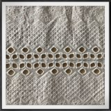 100%algodão bordados rendas para vestuário de malha
