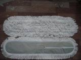 Tête de lavette de fils de coton/tête plate de lavette