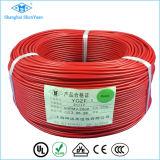 Teflon de faisceau de Ygz et câble de fil multi en caoutchouc de silicones