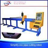 Ökonomische CNC-runde Rohr-Ausschnitt-Maschine