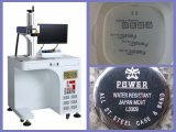 Горячая повышая машина маркировки лазера металла волокна 20W