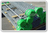 Iron galvanizzato Wire Mesh Security Chain Link Fence (anjia-155)