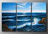 Huile sur toile abstraite - 0901