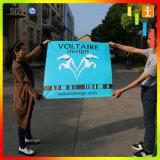 Vinile esterno di stampa su ordinazione all'ingrosso di Digitahi che fa pubblicità alla bandiera (TJ-45)