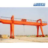 フレーム50トンレール敷Mgのモデル二重ガードのガントリークレーン